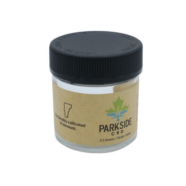 Cannabis Custom Glass Flower Jar Packaging