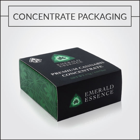 Custom Concentrate Packaging