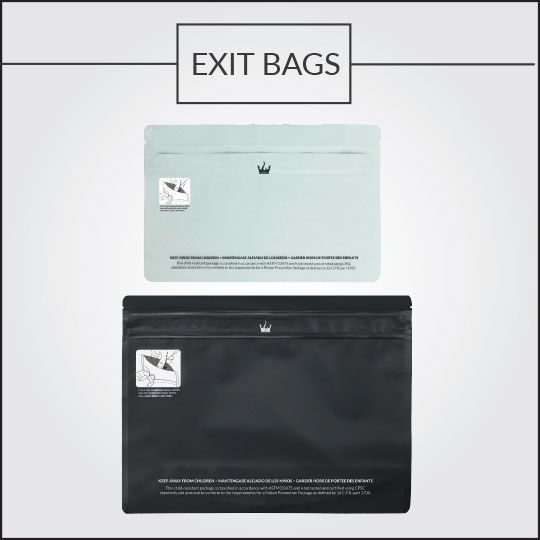 Custom Exit Bags