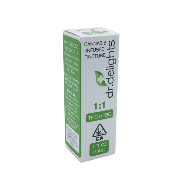 Cannabis Tincture Boxes Packaging